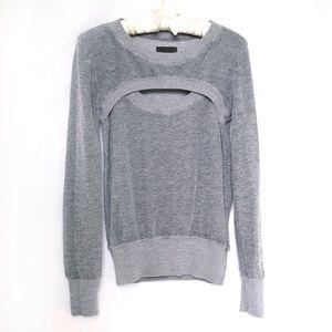 Monrow Peek-a-Boo Sweatshirt
